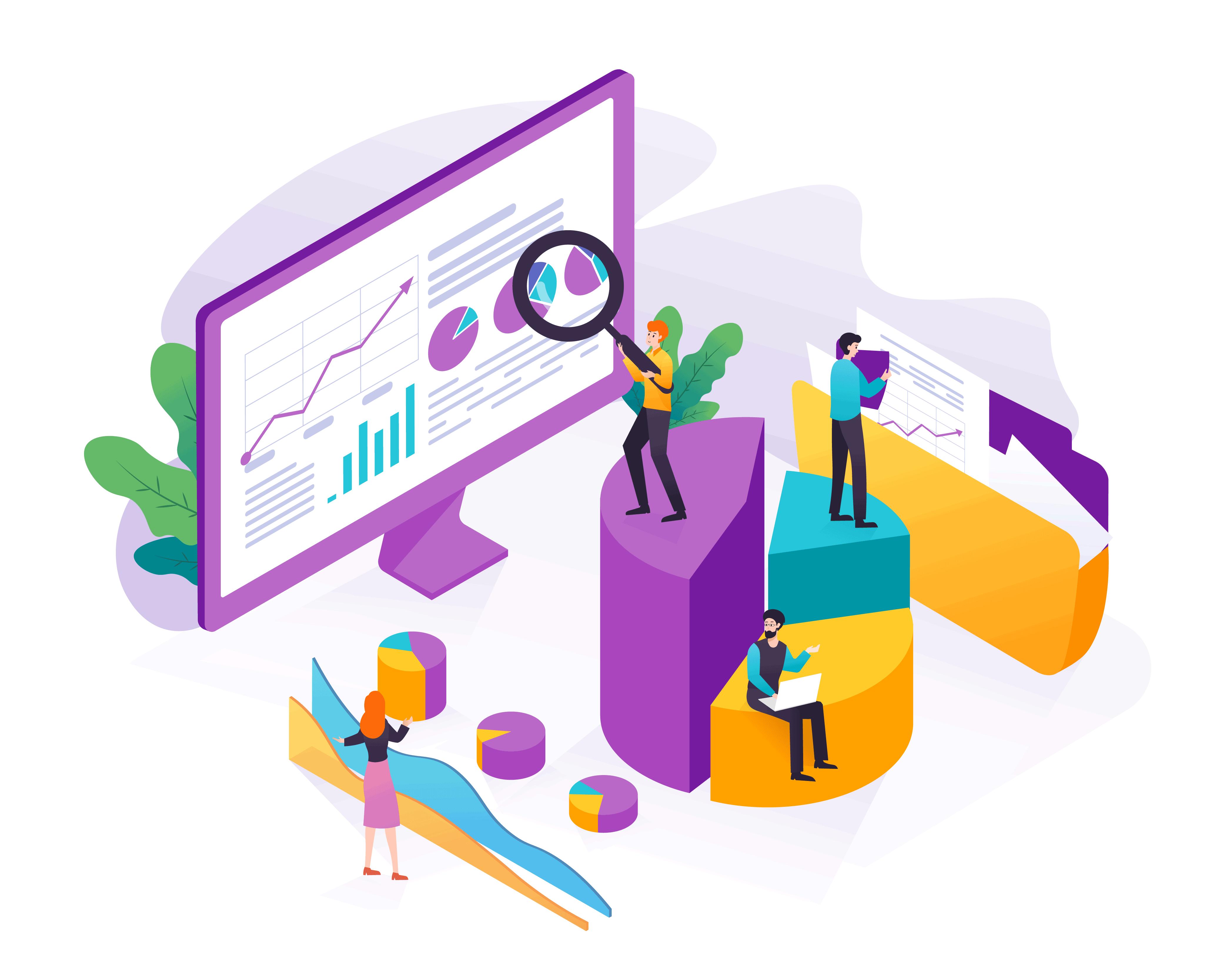 analyzing website data